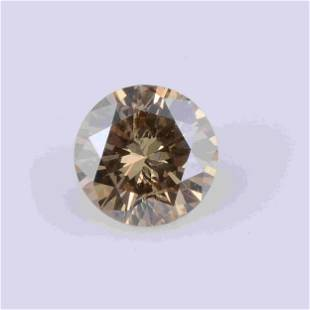 0.82 Carat Natural Fancy Light Orangy Yellow Color