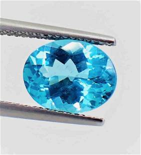 Apatite 8 x 10 MM Certified - 2.80 ct