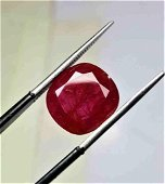 9 carats Top Quality Ruby from Kashmir