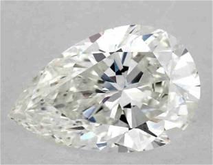 GIA CERT 1.12 CTW PEAR DIAMOND FVVS1