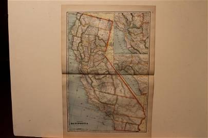 1895 California Map
