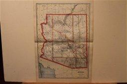 1895 Arizona Map