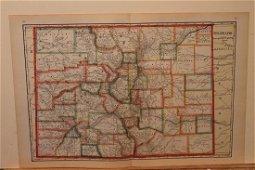 1895 Colorado Map