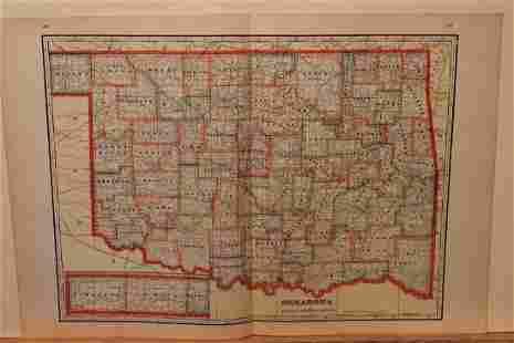 1895 Oklahoma Map
