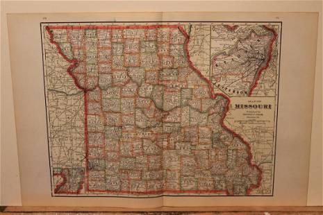 1895 Missouri Map