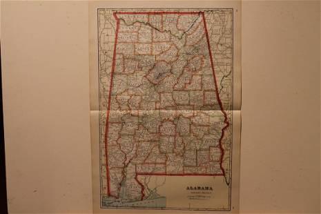 1895 Alabama Map