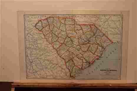 1895 South Carolina Map
