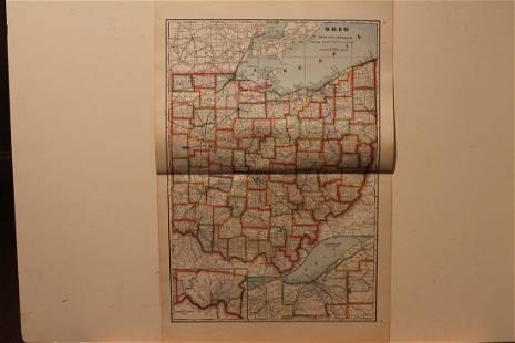1895 Ohio Map