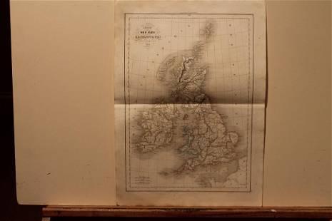 1838 England Map