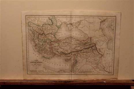 1843 Ottoman Empire Map