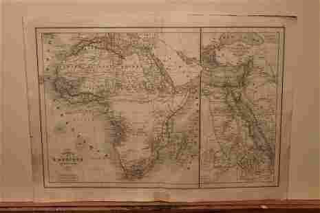1843 Africa Map