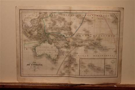 1846 Australia Map