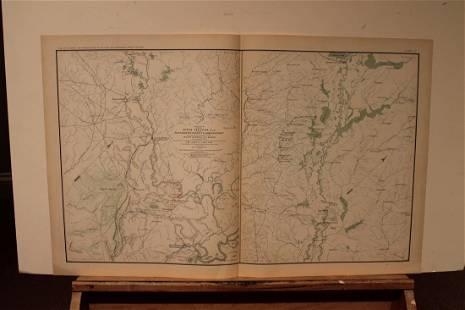 1893 Louisiana Civil War Map