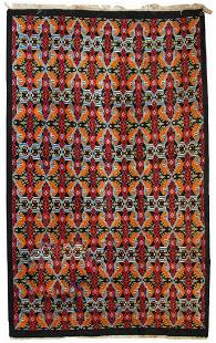Modern Moroccan Berber rug 6' x 9.8' ( 185cm x 300cm)