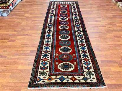 Antique Azabijan Caucasian Runner-3927