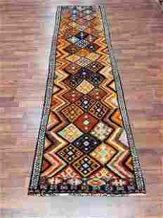 Antique Allover Design Turkish Caucasuan Runner-4879