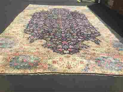 Antique Large size Ravar Kerman rug-2169