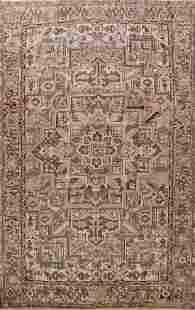Antique Geometric Heriz Persian Area Rug 10x12