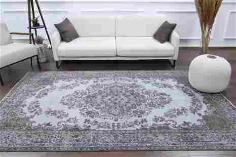 6x9 ORIENTAL Turkish Vintage Carpet, Oushak Handmade