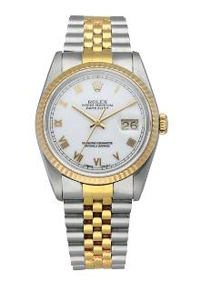 Rolex Oyster Perpetual Datejust 16233 Mens Watch