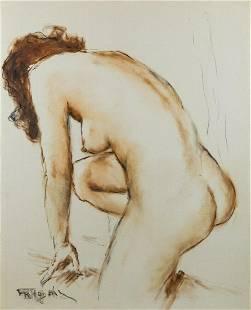PAL FRIED   Nude II. (Hungarian Painting)