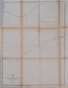 1855 Gunnison Map of Kansas and Nebraska -- Map No. 2 -