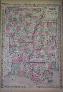 Johnson's Arkansas Mississippi and Louisiana