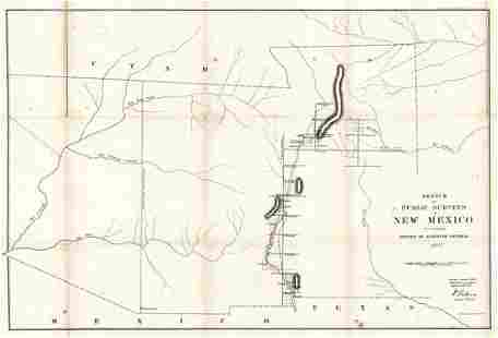 Sketch of Public Surveys in New Mexico to Accompany