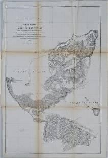 1853 Williamson Map of California's Tejon Pass Area --