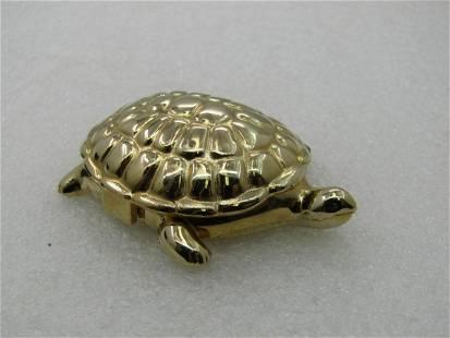 """Vintage Sterling Marcasite Frog Necklace, 20"""", Signed"""