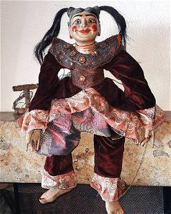 Rare and large Myanmar Puppet