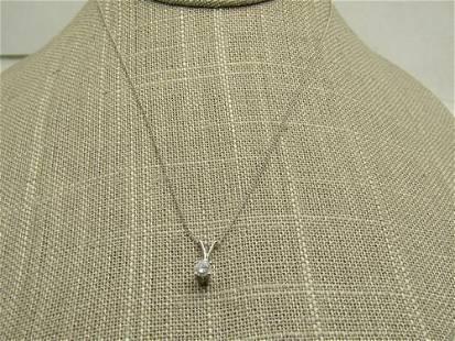 Vintage 14kt Speidel .30 CTW Diamond Solitaire
