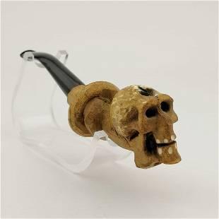 Snake Skull,Meerschaum Cigarette Holder