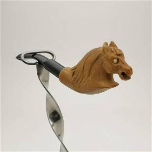 Horse,Meerschaum Pipe