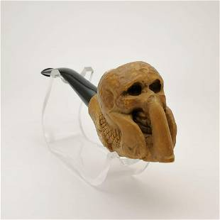 Skull Eagle Claw,Meerschaum Pipe