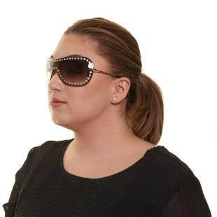 Miu Miu Gold Sheild Sunglasses