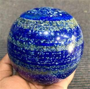 Polished Blue Lapis Lazuli Sphere @Afg, 2300 Gram