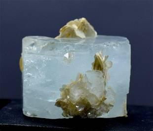 Aquamarine Crystal , Terminated Natural Aquamarine