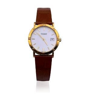 Tissot Vintage 18K Gold Women Quartz Wrist Watch