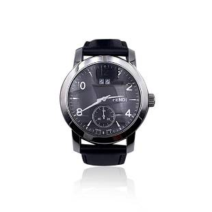 Fendi Stainless Steel 2100 G Unisex Quartz Wrist Watch