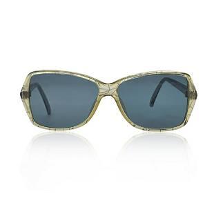 Christian Dior Vintage Green Optyl Mod. 2414 Sunglasses