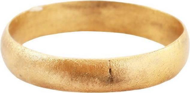 RARE VIKING WEDDING RING 866-1067 AD SZ 9 1/4