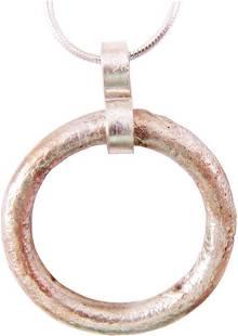 CELTIC PROSPERITY RING NECKLACE, C. 400 - 100BC