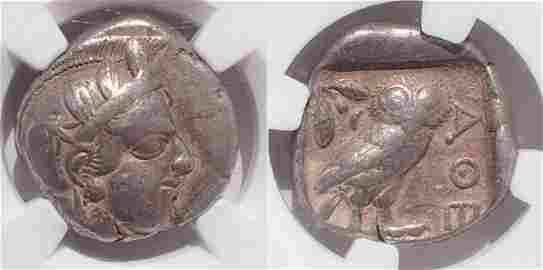 Attica. Athens. Ca. 440-404 BC. AR tetradrachm