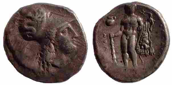 Lucania, Herakleia, c. 340-300 BC AR Stater