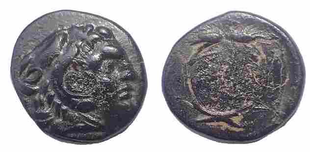 Kings of Thrace. Lysimachos. 305-281 BC. Æ 15
