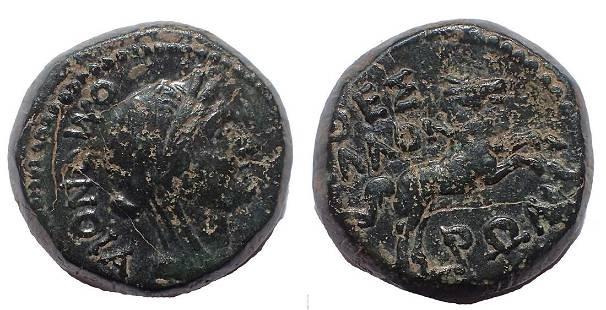 Macedon, Thessalonica. Mark Antony & Octavian. 37 BC.
