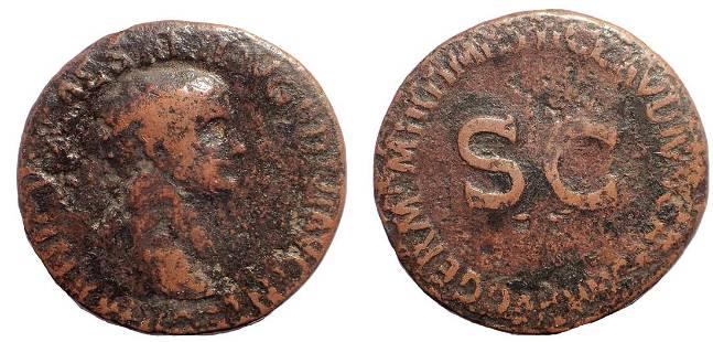 Germanicus. Died AD 19. Æ As