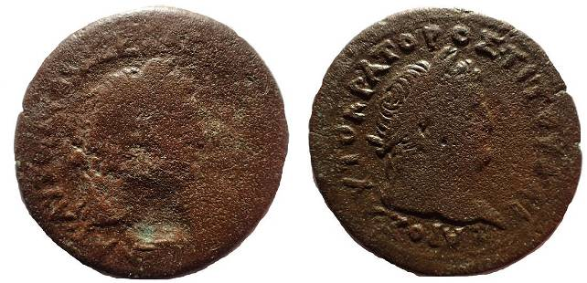 Egypt, Alexandria. Vespasian, with Titus as Caesar. AD