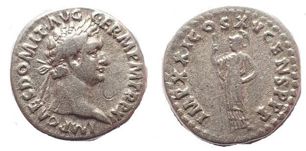 Domitian. AD 81-96. AR Denarius